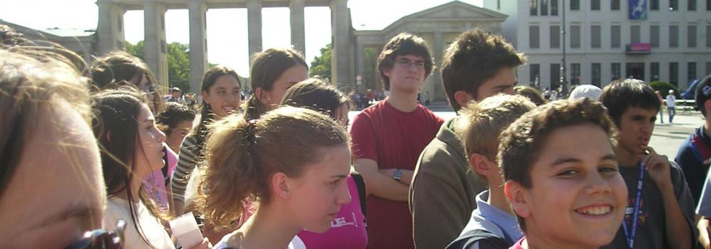 Immersion linguistique à Berlin en summer camp